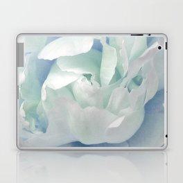 Peony in Blue White Laptop & iPad Skin