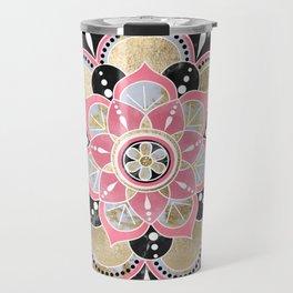 Elegant girly tribal mandala design Travel Mug