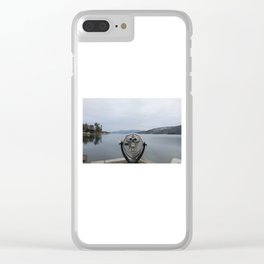 View Of Lake George NY Clear iPhone Case