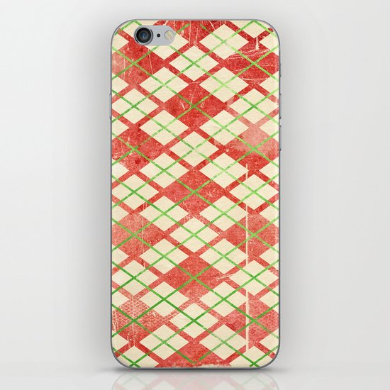 Vintage Wrapping Paper iPhone & iPod Skin