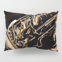 Musical Gold Pillow Sham