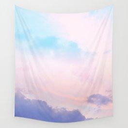 Unicorn Pastel Clouds #5 #decor #art #society6 Wall Tapestry