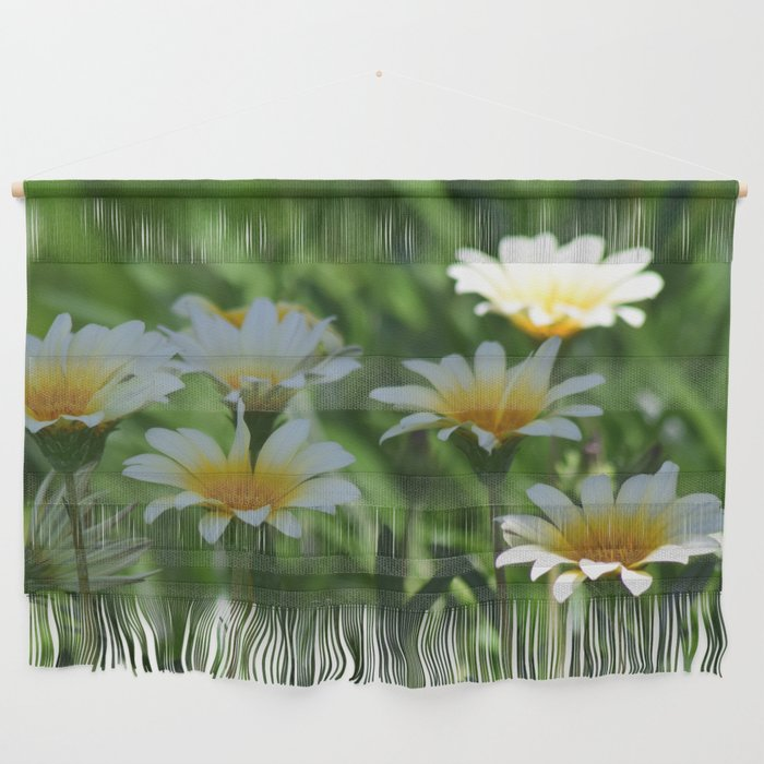Dainty Daisies By The Half Dozen Wall Hanging