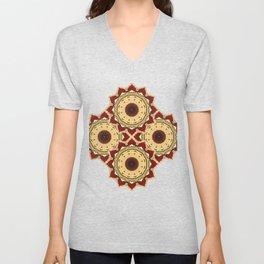 Yule Mandala Unisex V-Neck