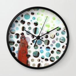 Indian Bride Twist Wall Clock