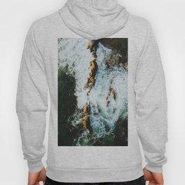 OCEAN - SEA - WATER - ROCKS - PHOTOGRAPHY Hoody