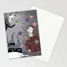 Snow Stars Fine, Snow Stars Mine Stationery Cards