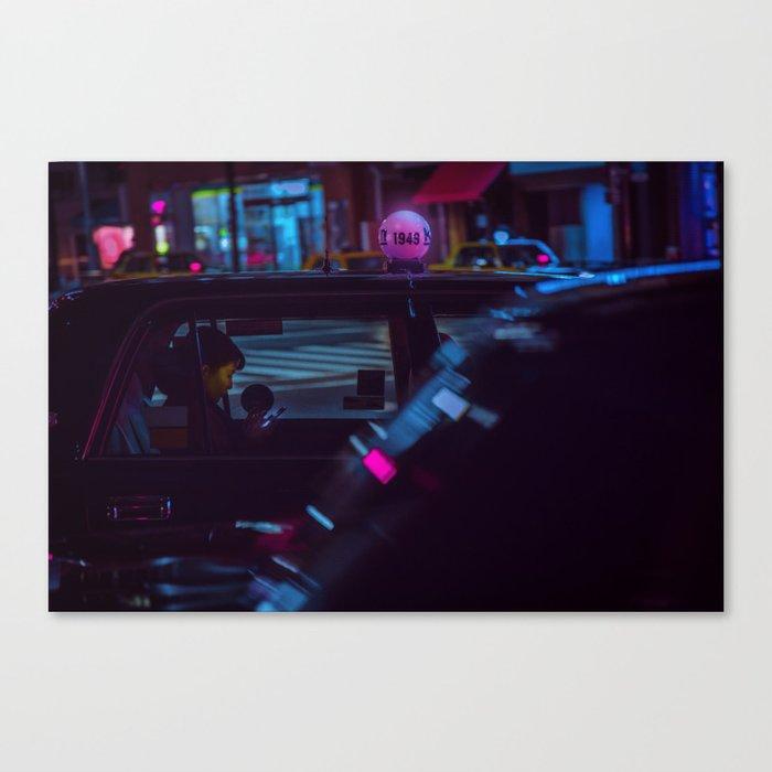 Tokyo Nights / Roppongi Nights / Liam Wong Canvas Print