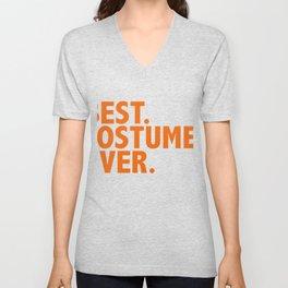 Best Costume Ever Halloween Fancy Dress Costume Trick Treat Unisex V-Neck