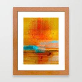 My Heart Is Like Sunshine Framed Art Print