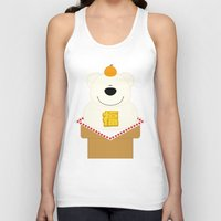 japanese Tank Tops featuring JAPANESE by SANTA