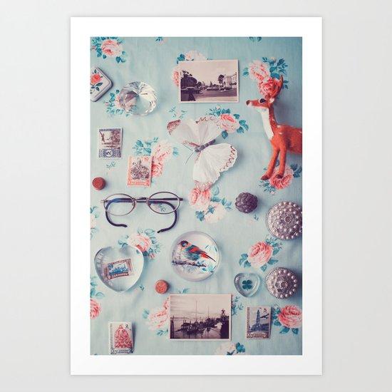 Memories. Art Print