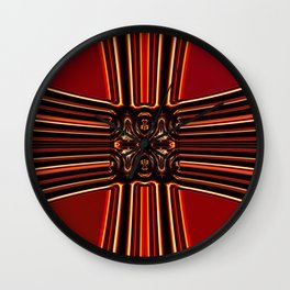 Yoyu hikari, molten light Wall Clock