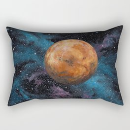 Mars and Stars Rectangular Pillow