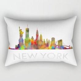 NY-New York Skyline HQ Rectangular Pillow