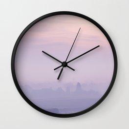 Still Mist Wall Clock