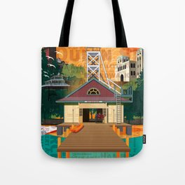 Once a Beacher (Tall) Tote Bag