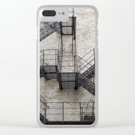Escape Clear iPhone Case