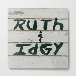 Ruth and Idgy 3 Metal Print
