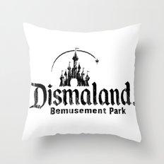 Dismaland Throw Pillow
