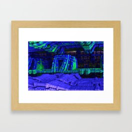 The Entrance To Our Rabbithole Framed Art Print
