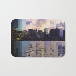 East Boston Timelapse Bath Mat