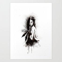 Tristes Armas (Sketch version) Art Print