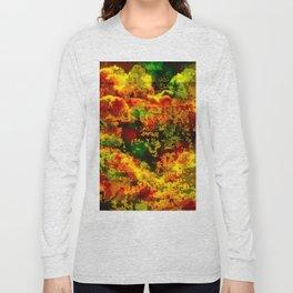 C13D Distressed Long Sleeve T-shirt