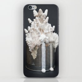 I Can : Doubt, White Mushrooms on Tin Can iPhone Skin