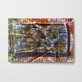 Door into the Forest Metal Print