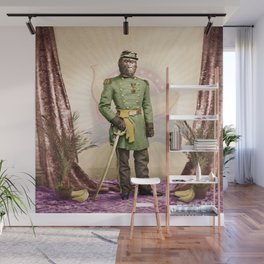 General Simian of the Glorious Banana Republic Wall Mural