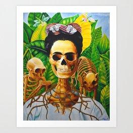 Frida vive Art Print