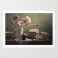 In the spring mood Art Print