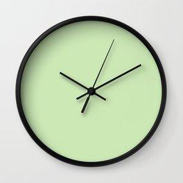 LIGHT GREEN  Wall Clock