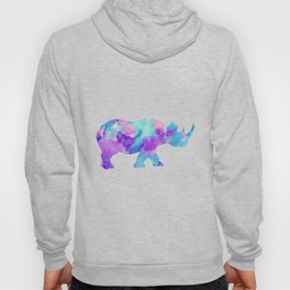Abstract Rhino B Hoody