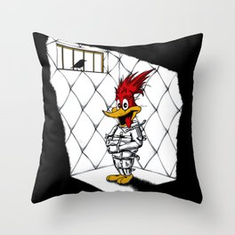 Woody Woodpecker Throw Pillow
