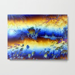 ABSTRACT - My blue heaven Metal Print