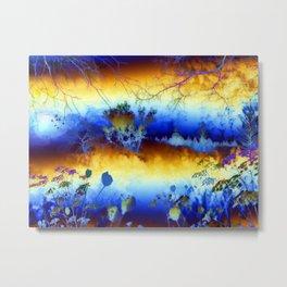 ABSTRACT - My blue heaven Metal Print