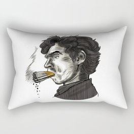 London Smoking Habit Rectangular Pillow