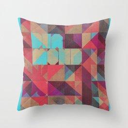 Risograph 1/Diamond Throw Pillow