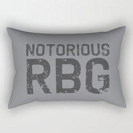 Notorious RBG R.B.G Rectangular Pillow