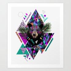 KAHOOLAWE Art Print