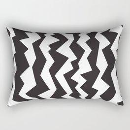 80s Zigzag Rectangular Pillow