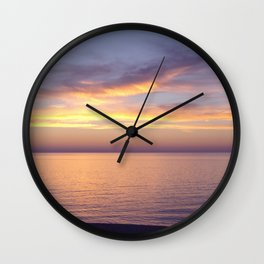 Awesome Afterglow Wall Clock