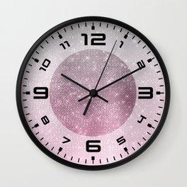 Pastel shimmer 1 Wall Clock