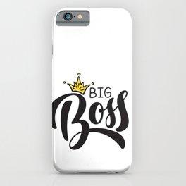 Big Boss iPhone Case