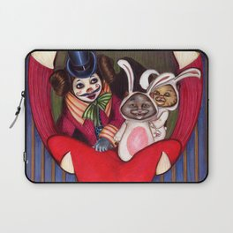 Bella and cats Laptop Sleeve