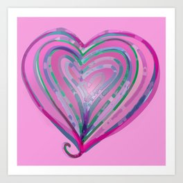 Heart of My Heart Art Print