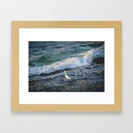"""The poetry of the earth is never dead."" ― John Keats Framed Art Print"