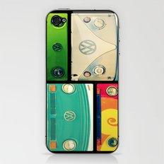 VW Collage iPhone & iPod Skin